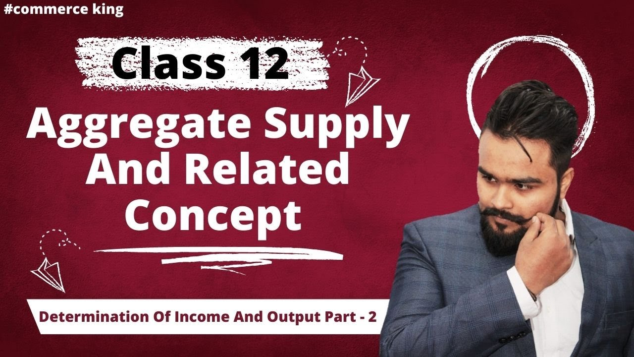 #61, Aggregate supply and it's components | Class 12 macroeconomics