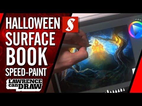 Halloween Surface Book