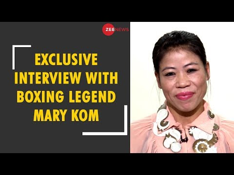 Watch: Exclusive interview with Olympic Bronze medalist Mary Kom