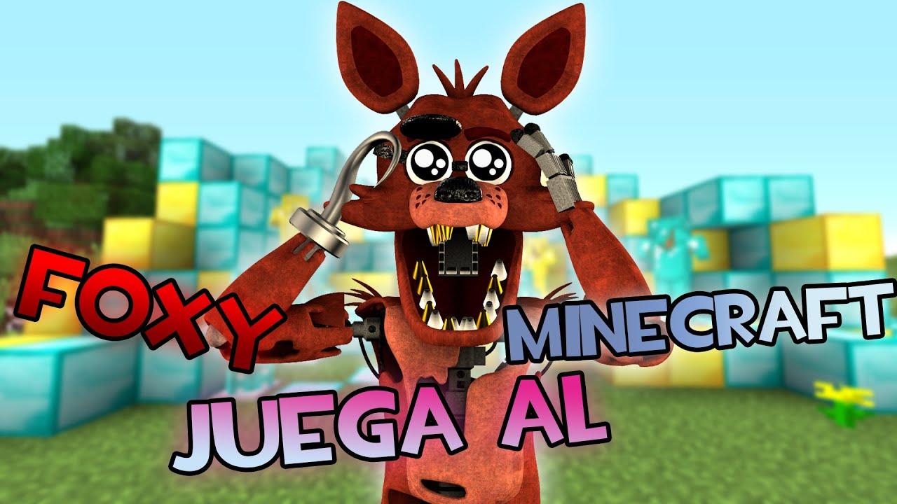 [SFM] Foxy Juega Al Minecraft