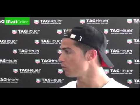 Ronaldo thoughts on Falcao and Manchester United