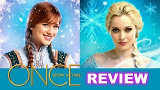 Once Upon a Time Season 4 Episode 1 Review! Frozen