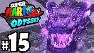 Super Mario Odyssey - Nintendo Switch Gameplay Walkthrough PART 15: Dragon Boss - Bowser's Kingdom