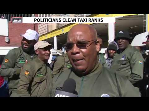 Mens forum cleanup two taxi ranks in JHB