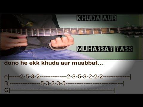 Khuda Aur Muhabbat Guitar Tabs