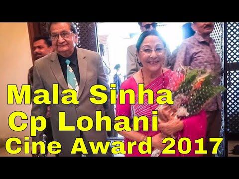 Mala Sinha ,C.P Lohani , Binod Chaudhary , Nanda Bahadur Pun in LG Cine Circle Awards 2074