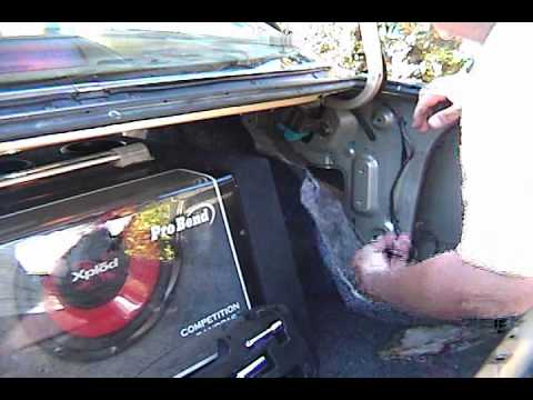 Mazda 626 Stealth Hidden Antenna Youtube