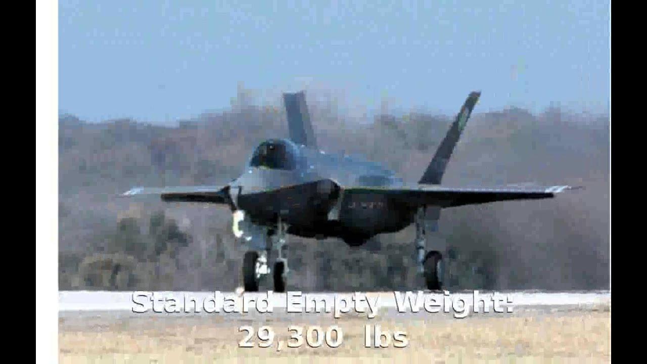 All Types f 22 raptor specs : Lockheed F-35 Lightning II Military Jet - Features Specs - YouTube