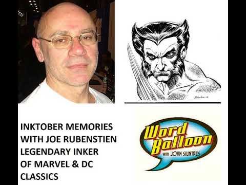 Inktober With Marvel OHOTMU Legend Joe Rubenstien