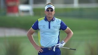 Ian Poulter's disastrous triple bogey on No. 14 at Honda Classic
