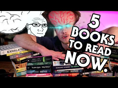 5 books if you only read scifi & fantasy, and 5 other books you should read anyway