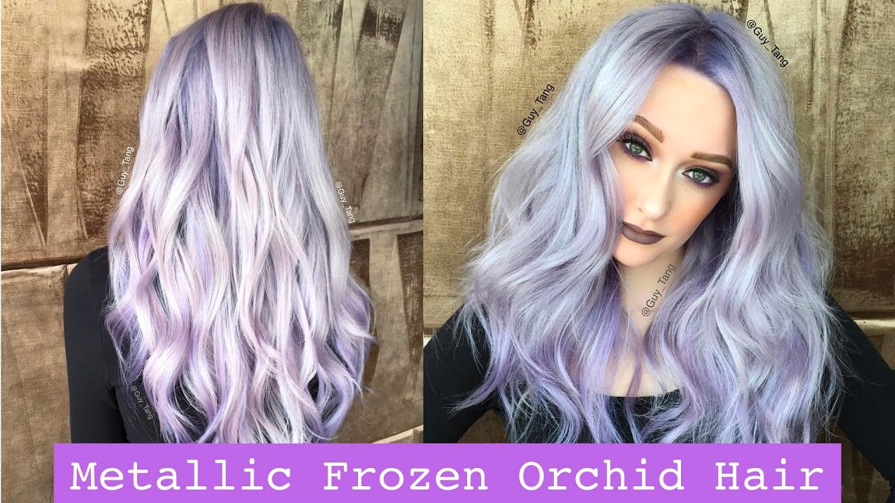 Metallic Frozen Orchid Hair Youtube