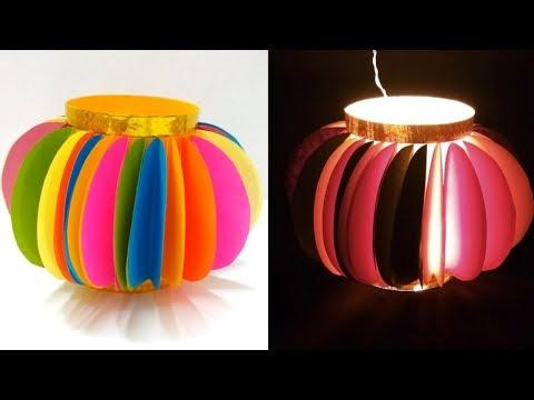 Diwali Lantern Making At Home | Diwali/Christmas Decoration Ideas | Diwali Akash kandil Ideas