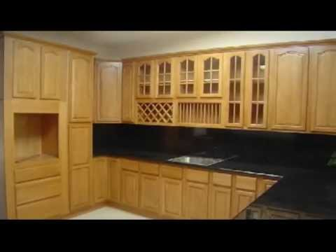 Kerala style wooden kitchen cabinets youtube Wooden house kitchen design