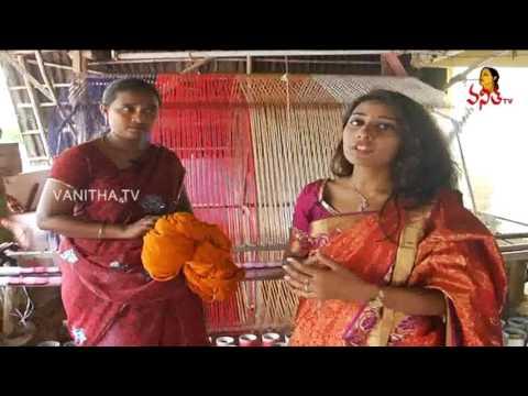 Mangalagiri Cotton Sarees & Fabrics Weaving - Krishnamma Sogasulu || Pushkaralu Special