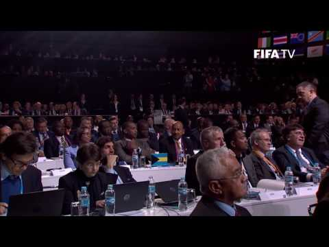 GIBRALTAR VOTED INTO FIFA