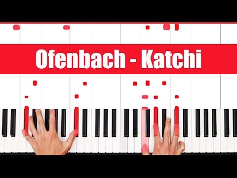 Katchi Ofenbach vs Nick Waterhouse Piano Tutorial - CHORDS