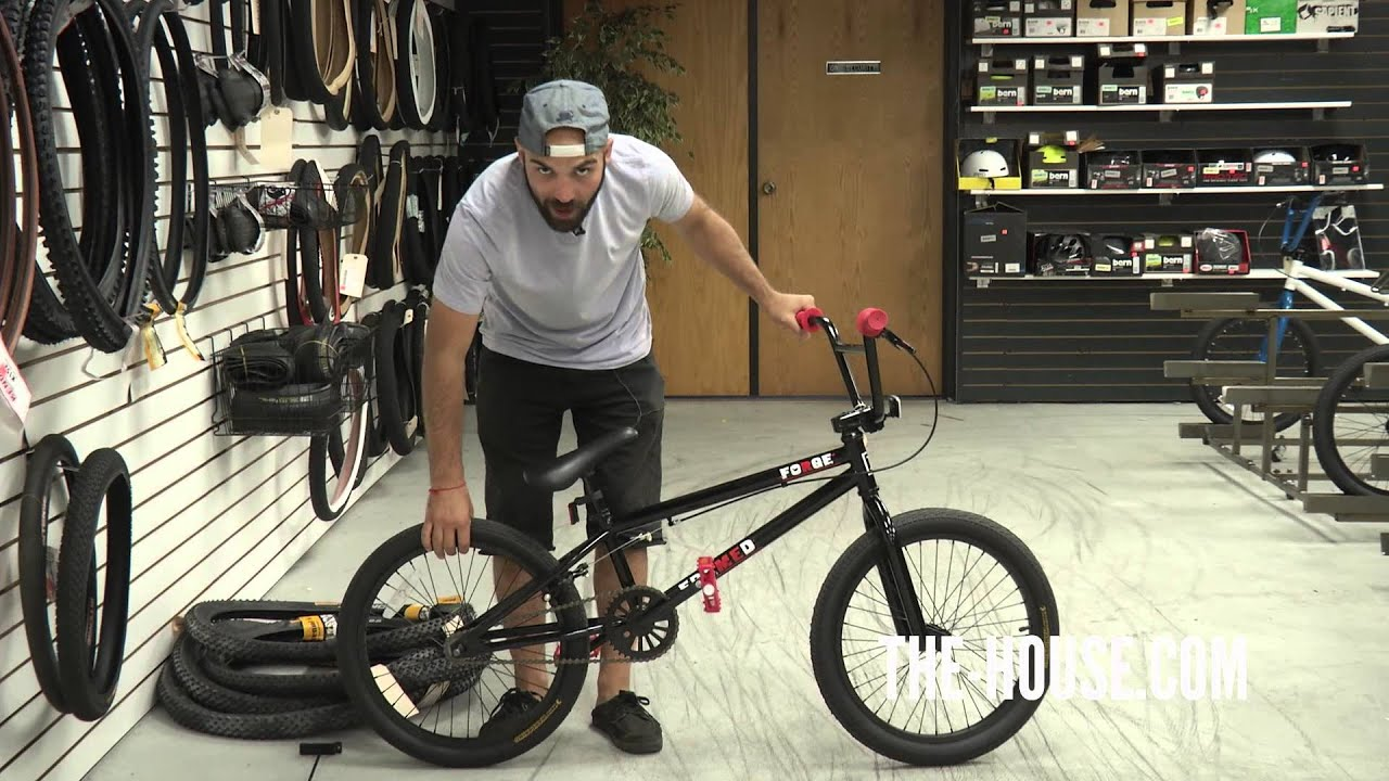 2013 Framed Forge BMX Bike Review - The-House.com - YouTube