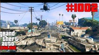 GTA 5 Online #1002 Wir sind einfach zu viele Panzer [Deutsch] Let´s Play GTA V Online PS4