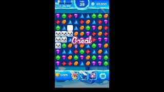 Jewel Pop Mania:Match 3 Puzzle Level 49 ( Jewel Ice Episode ) - Walkthrough ( No Booster ) screenshot 3