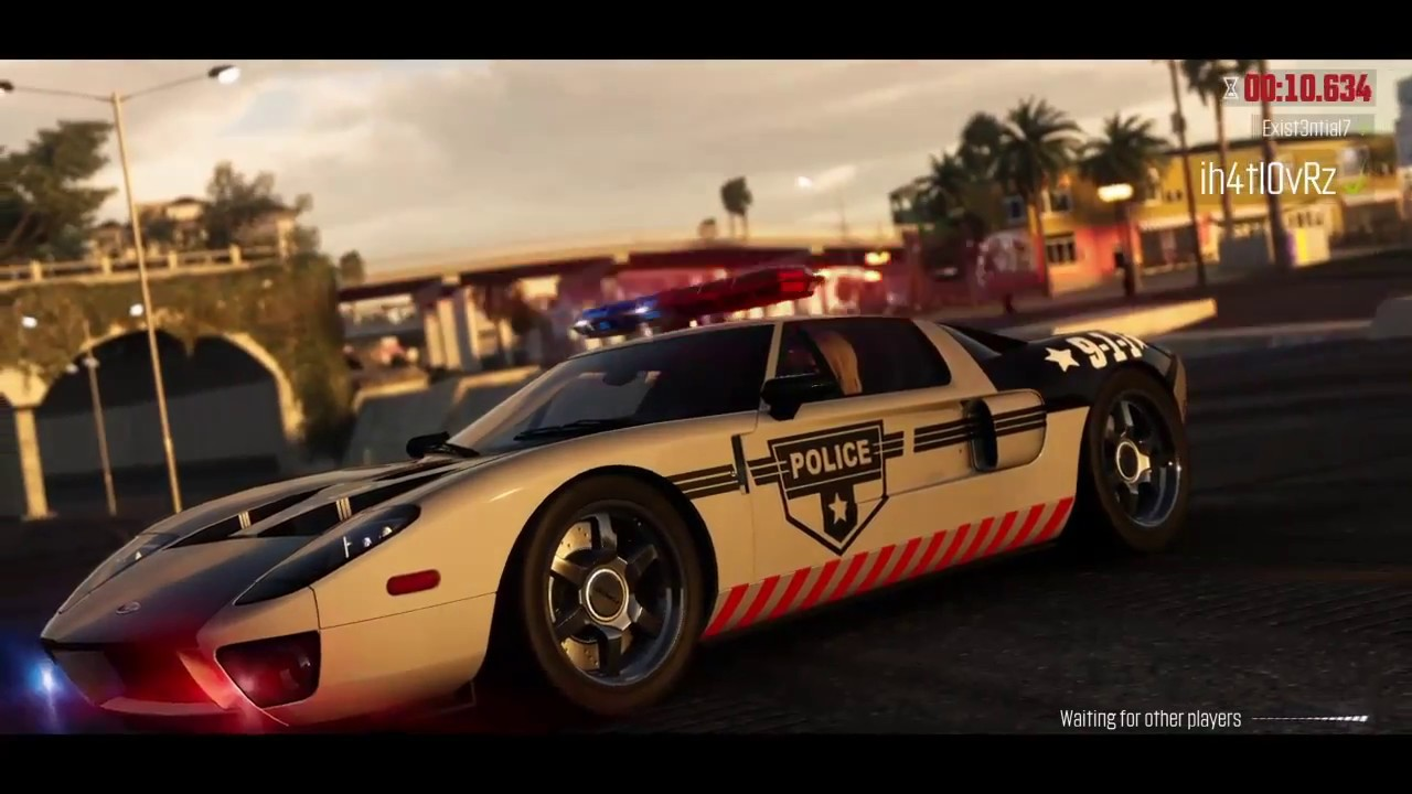 The Crew Ford Gt Police Car