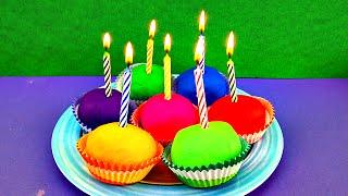 happy birthday elmo play doh shopkins spiderman toy story cupcakes surprise eggs strawberryjamtoys