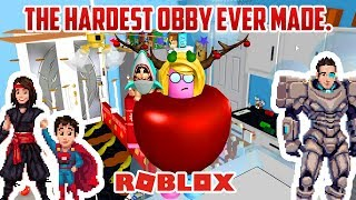 THIS OBBY IS BRUTAL. Roblox Kitchen Escape