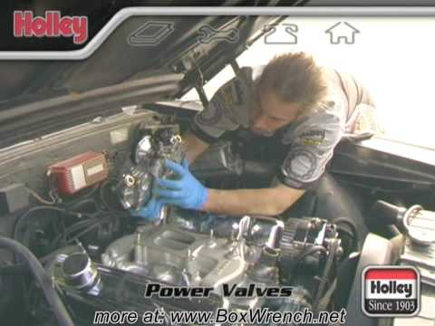 Carburetor Power Valves Video - Holley Carb Tuning DVD