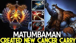 MATUMBAMAN [Magnus] New Cancer Carry Next Level Plays 7.23 Dota 2