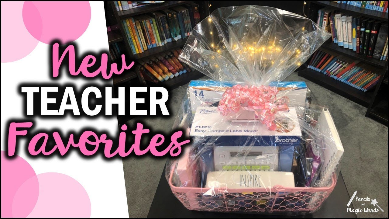 New Teacher Favorites | Gift Ideas & New Teacher Favorites | Gift Ideas - YouTube