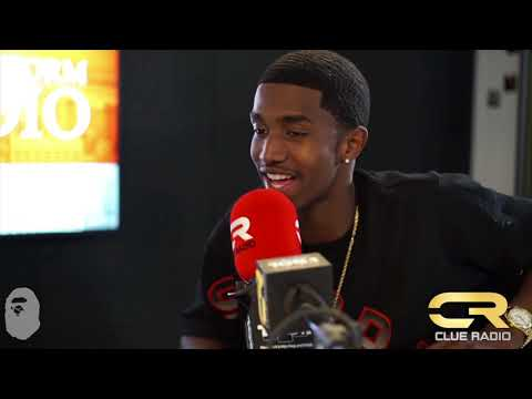KING COMBS FREESTYLES ON CLUE RADIO WITH DJ CLUE