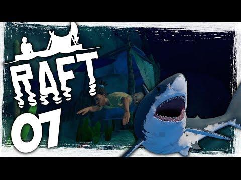 Huge Raft Update! - Ep 07 - Underwater Exploration! - Let's Play Raft Gameplay