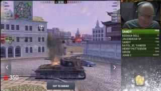 Tier X TD Livestream World of Tanks Blitz