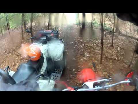 Weather Day  Dirt Biking Newtonville Ontario Canada
