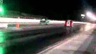 Tim Savoy on the bumper