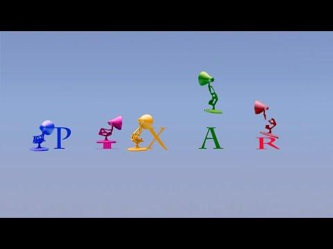 133-Five Colors Pixar Lamps Luxo Jr Logo Spoof Colors PIXAR Logo thumbnail