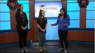 Taylor Hatala on CTV News