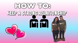 HOW TO KEEP A STRONG RELATIONSHIP |ASHLEY VLOGS