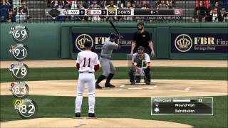 MLB 2K10- New York Yankees vs. Boston Red Sox: Complete Game Shutout