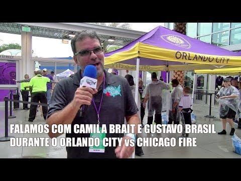 Estivemos no Orlando City 0x0 Chicago Fire com Schweinsteiger em campo