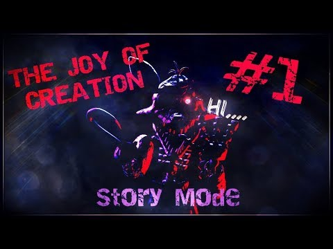 THERE'S NO JOY HERE | The Joy of Creation Story Mode | TOJC #1