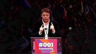 Renzi a Cinecittà, intervento di apertura della prima assemblea nazionale di Italia Viva (01.02.20)