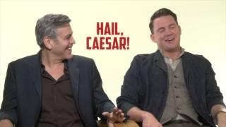 George Clooney u0026 Channing Tatum: HAIL, CAESAR!