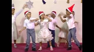 long time ago in bethlehem song and feliz navid dance by sr kg b