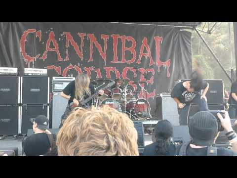 Cannibal Corpse at Rockstar Mayhem Fest Atlanta, Ga