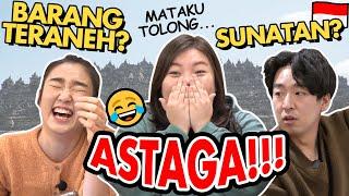 Download TEBAK WISATA INDONESIA DALAM 1 DETIK BISA GAK YA?! feat. BARANG TERANEH DI INDONESIA😂