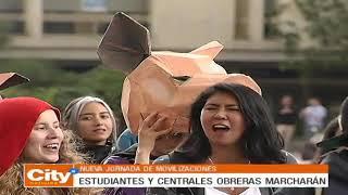 Otro jueves de marchas en Bogotá | CityTv