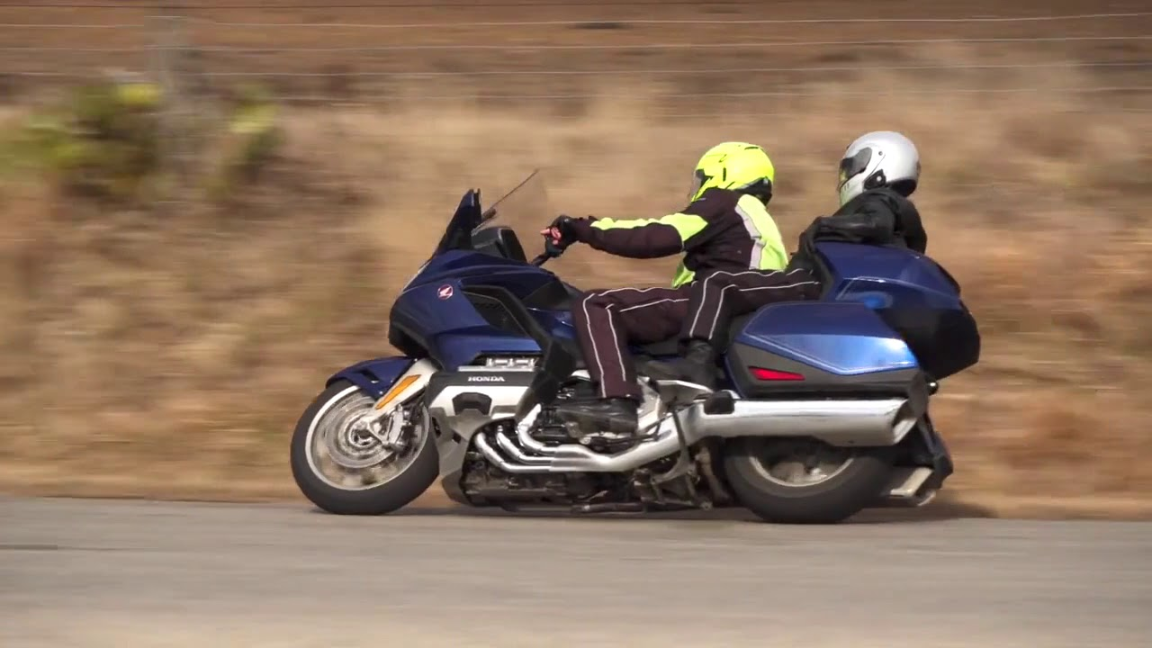 2018 Gold Wing First Ride Review by Fred Harmon - - Honda