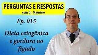 Gordura no fígado e dieta cetogênica, pode? - Perguntas e Respostas com Dr Mauricio Ep 015