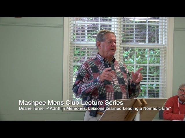 Mens Club Lecture Series 10/02/18 featuring Deane Turner